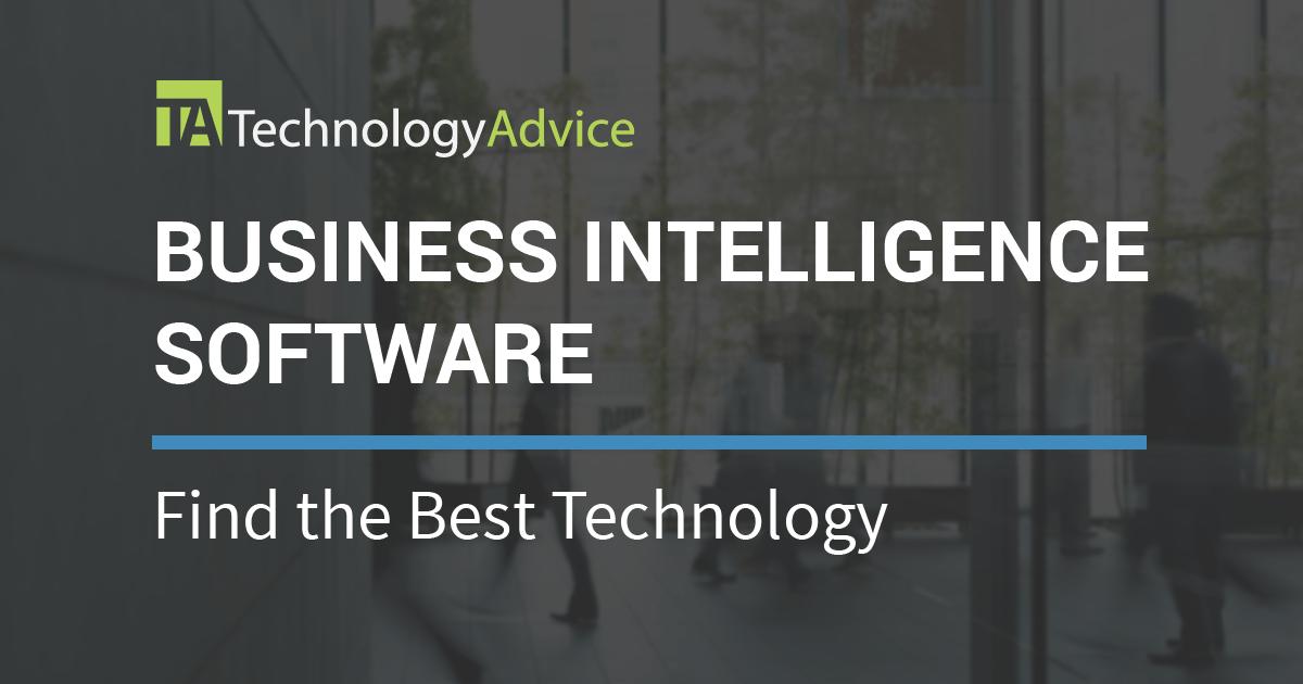 Best Bi Software 2018 Technologyadvice