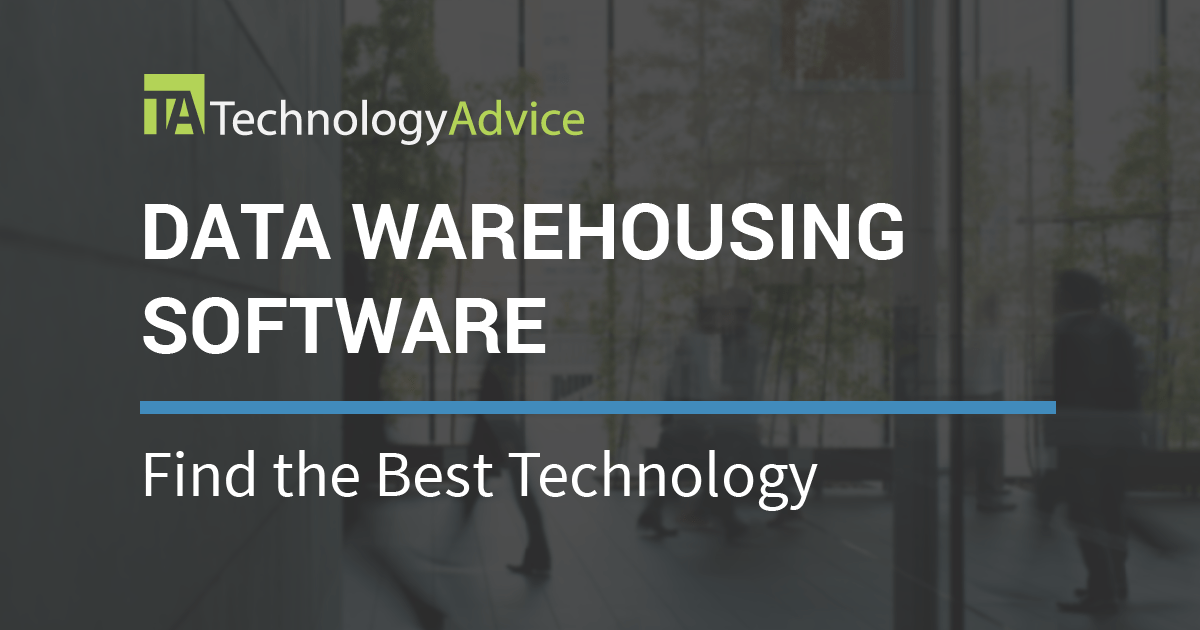 2018 S Best Data Warehousing Tools Technologyadvice