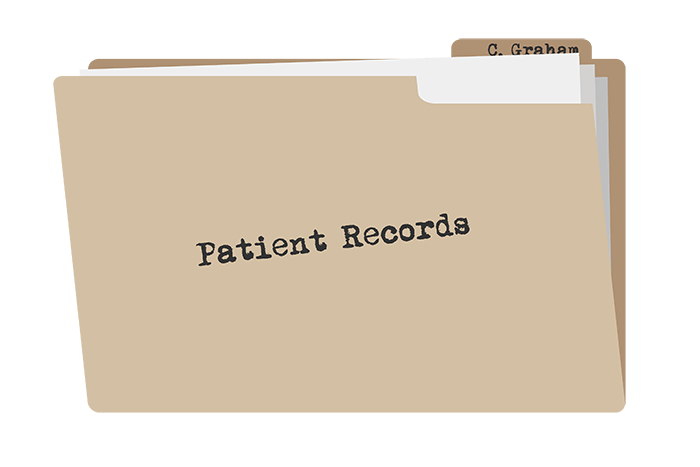 ehr companies patient records folder