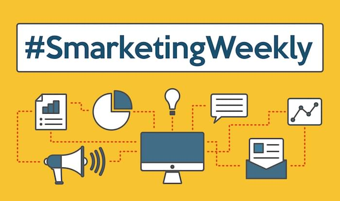 #SmarketingWeekly: Stories on Mobile Marketing, Chat Bots, Sales Enablement