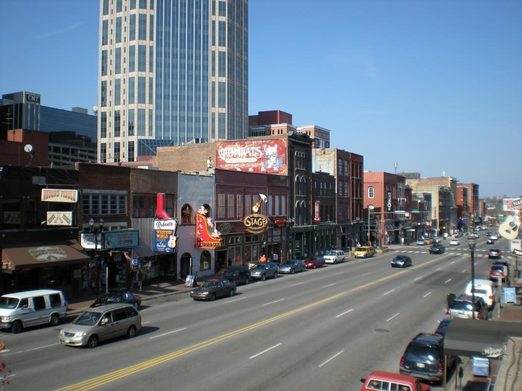 Lower Broadway, Nashville, TN