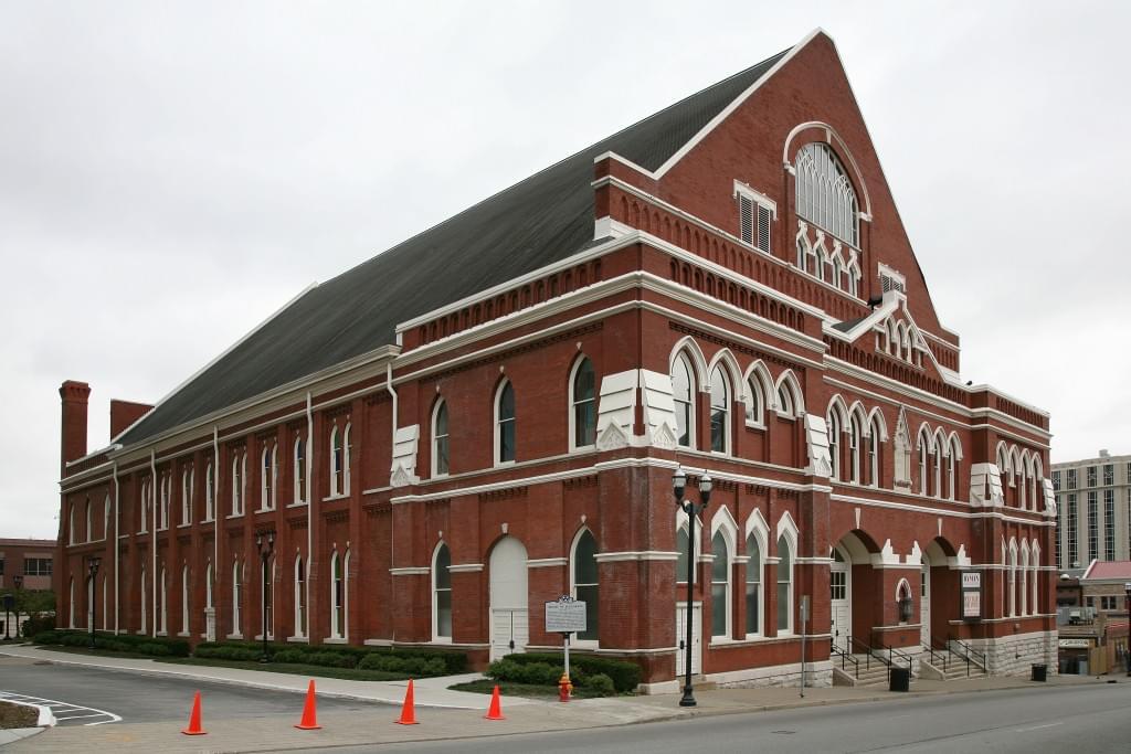 Ryman Auditorium Exterior