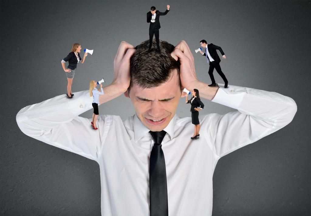 sales meeting frustrated