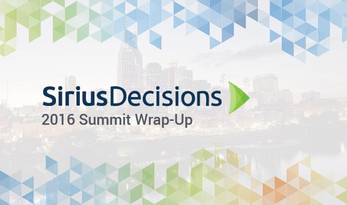 7 Experts Discuss Demand Gen at SiriusDecisons