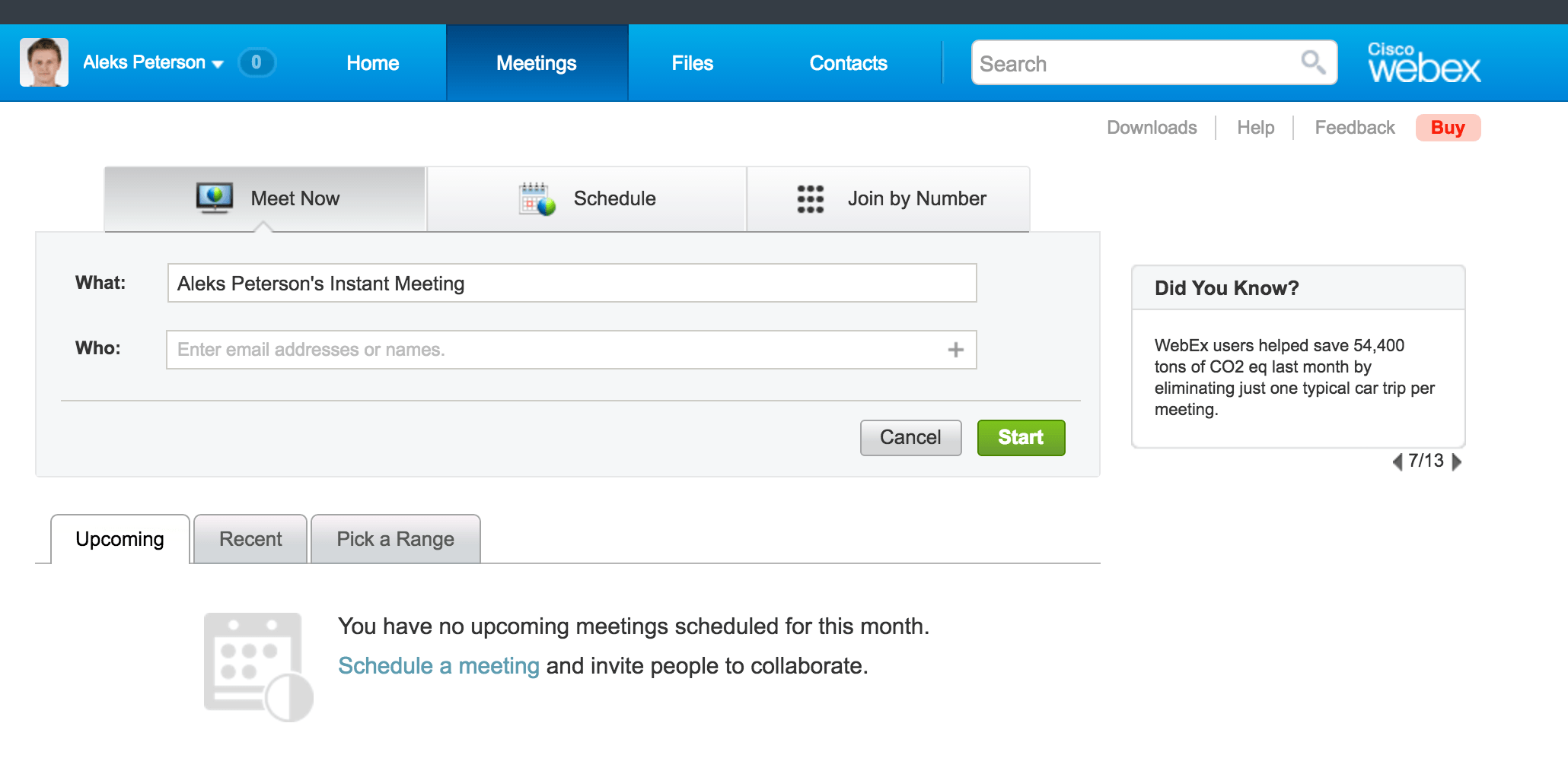 webex vs gotomeeting screenshot