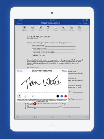 DocuSign vs. EchoSign: iPad app