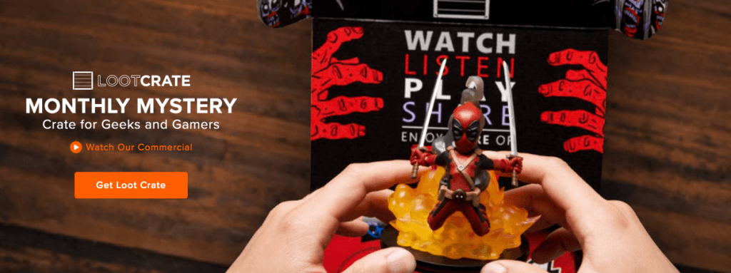 Loot Crate is one of several companies that more or less sell mystery in a box