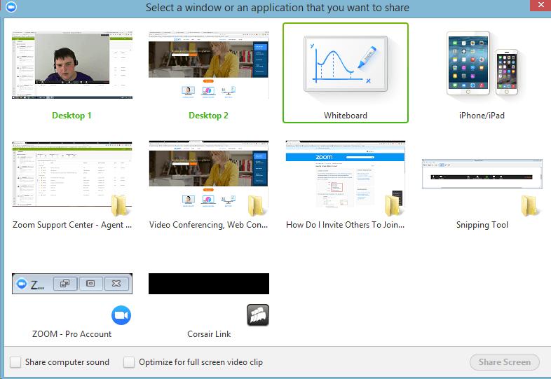 Skype alternatives - Zoom screenshot