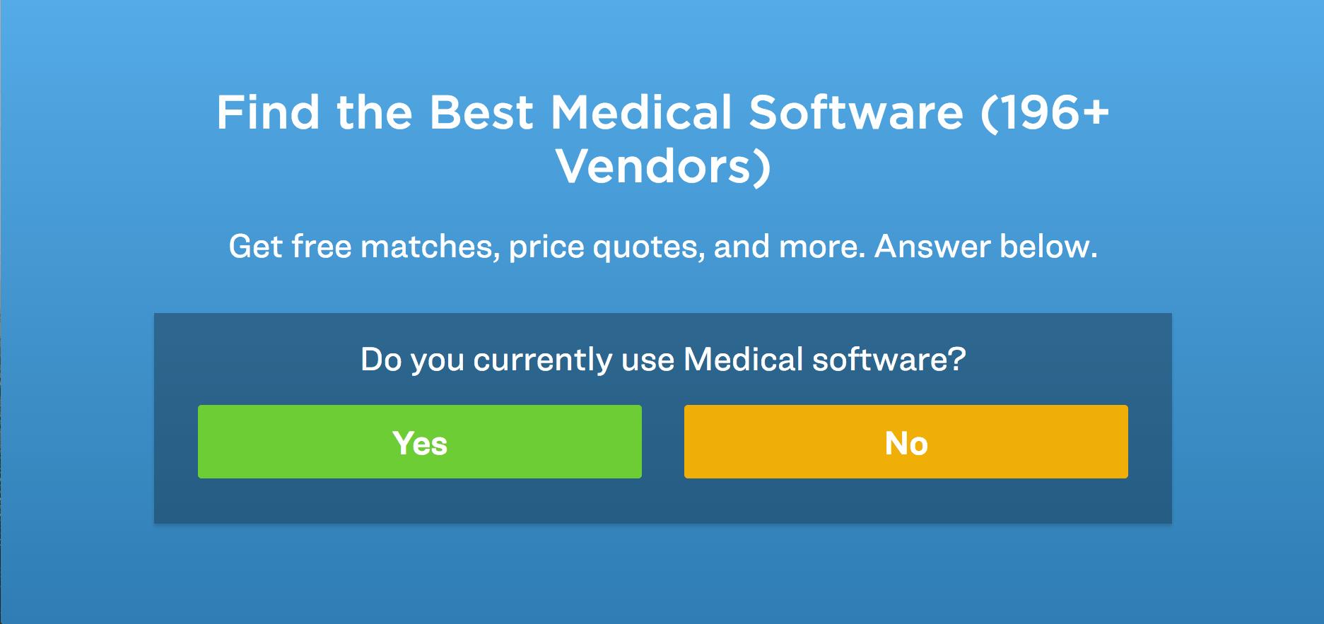 choose the best medical software