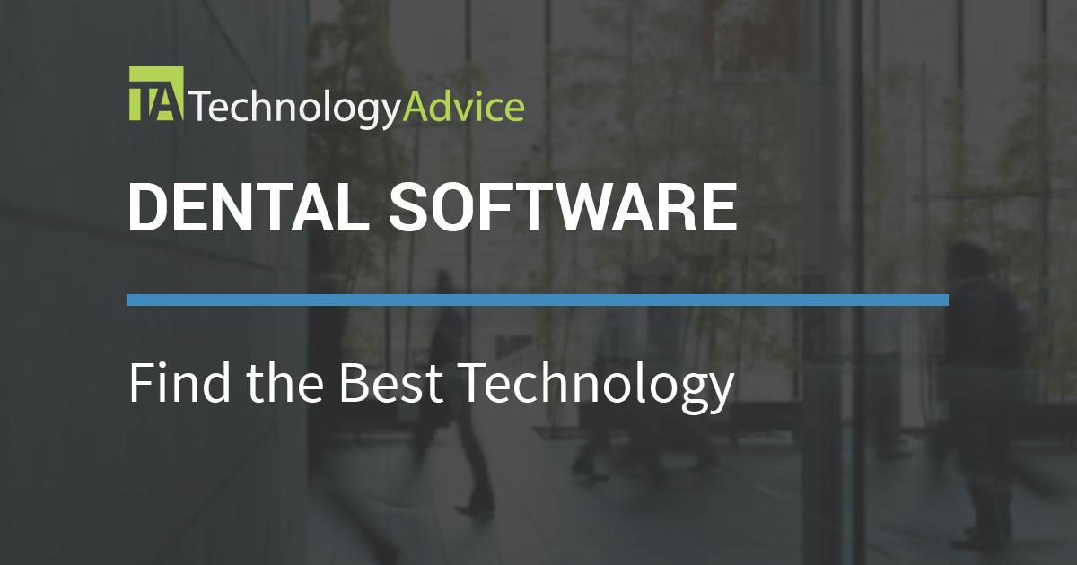 2018 S Best Dental Software Technologyadvice