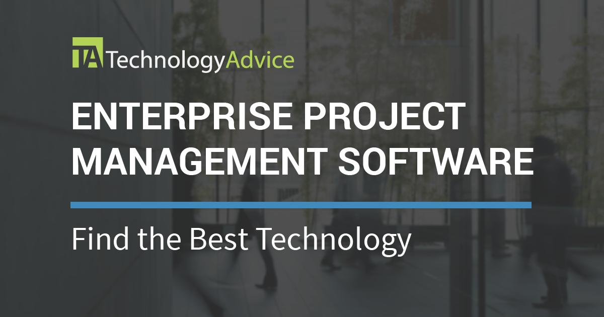 2018 S Best Enterprise Pm Software Technologyadvice
