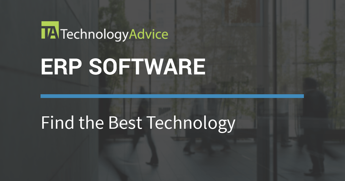 Best Erp Software Vendors 2018 Reviews And Comparison