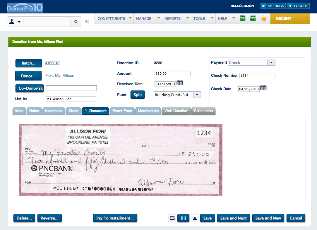 DonorPro_Screenshot3