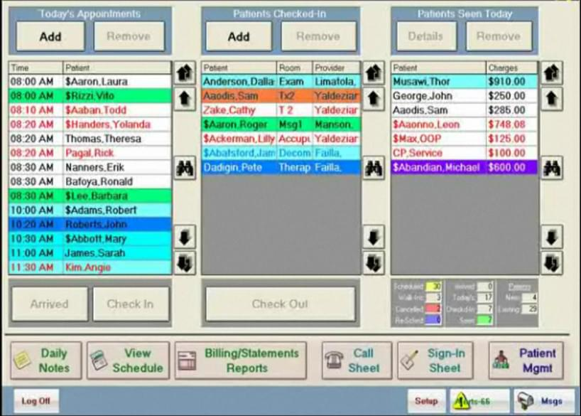 ChiroTouch screenshot - chiropractic software