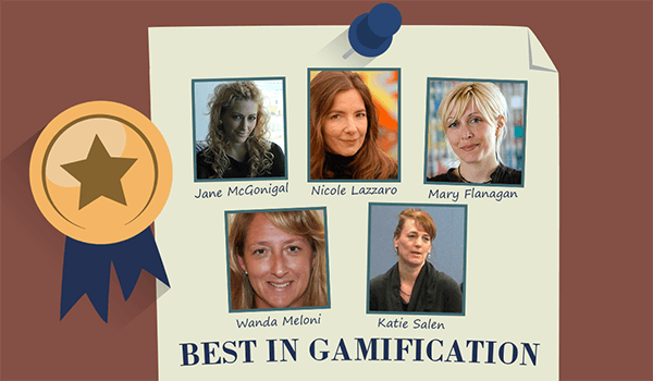 Top 5 Women in Gamification
