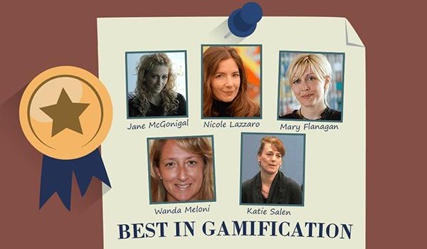 Top 5 Women in Gamification