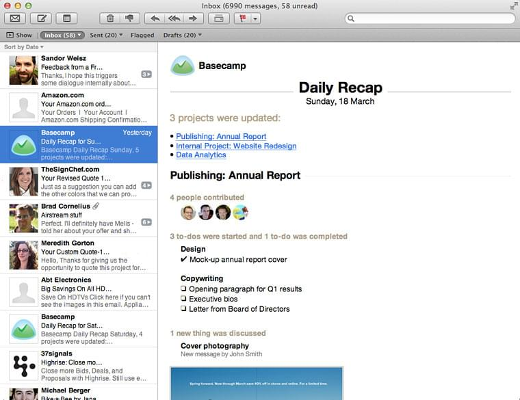 basecamp daily recap collaboration