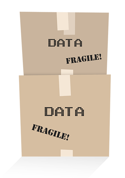 boxes of data analytics