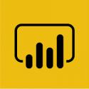 Official logo for Microsoft Power BI.