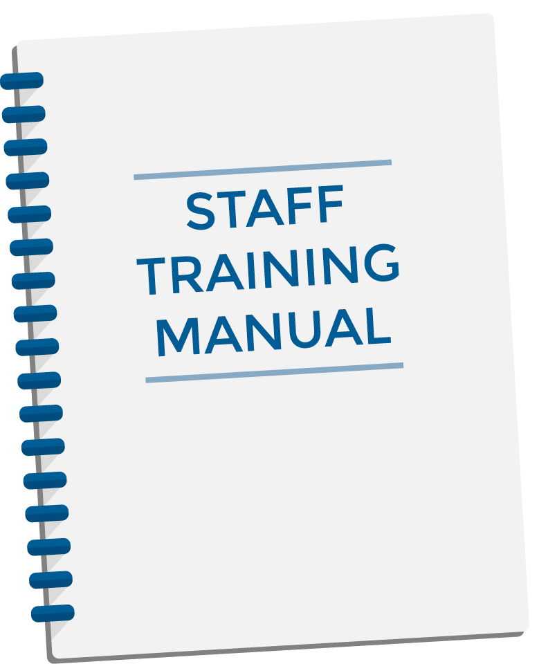 staff training manual template - staff training manual daily instruction manual guides