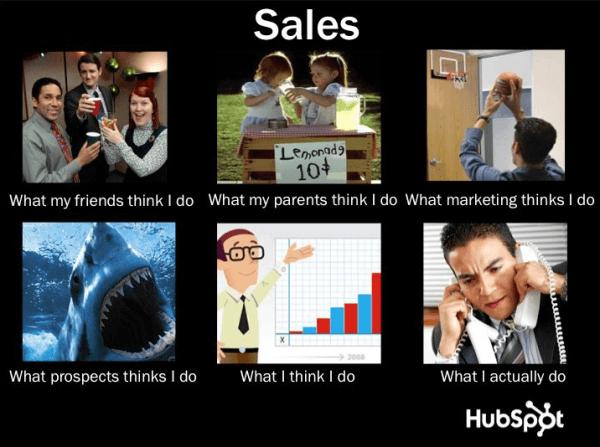 Hubspot sales meme