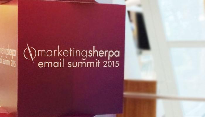 2015 marketingsherpa email summit