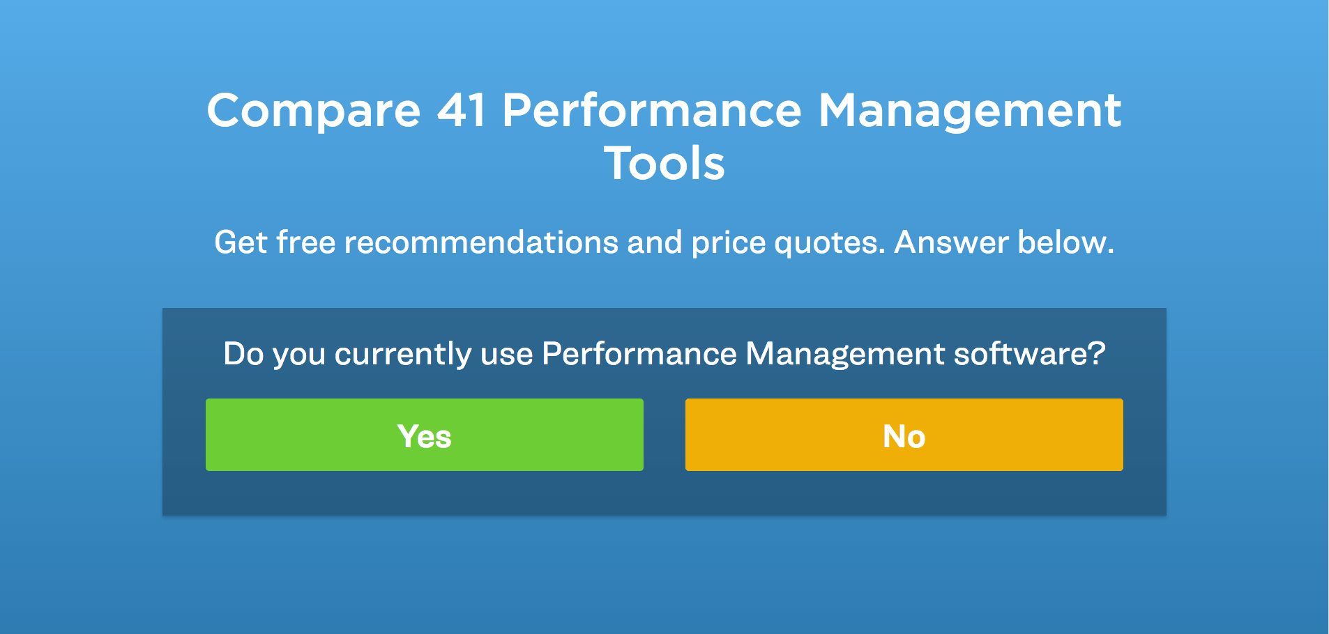 choose performance management software