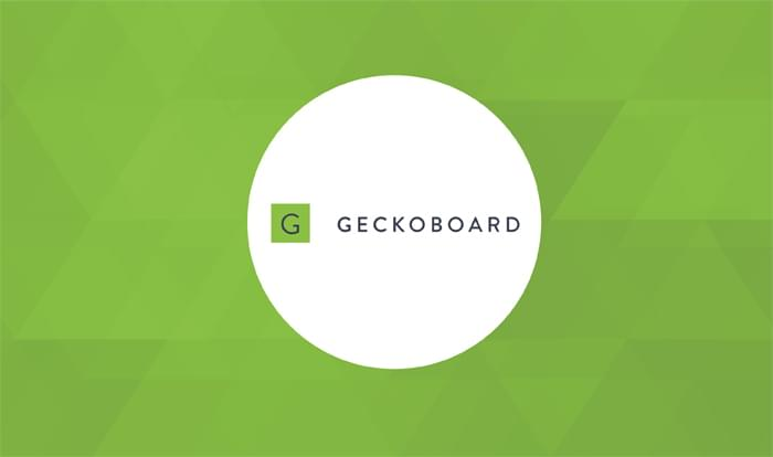 cover image of Geckoboard logo