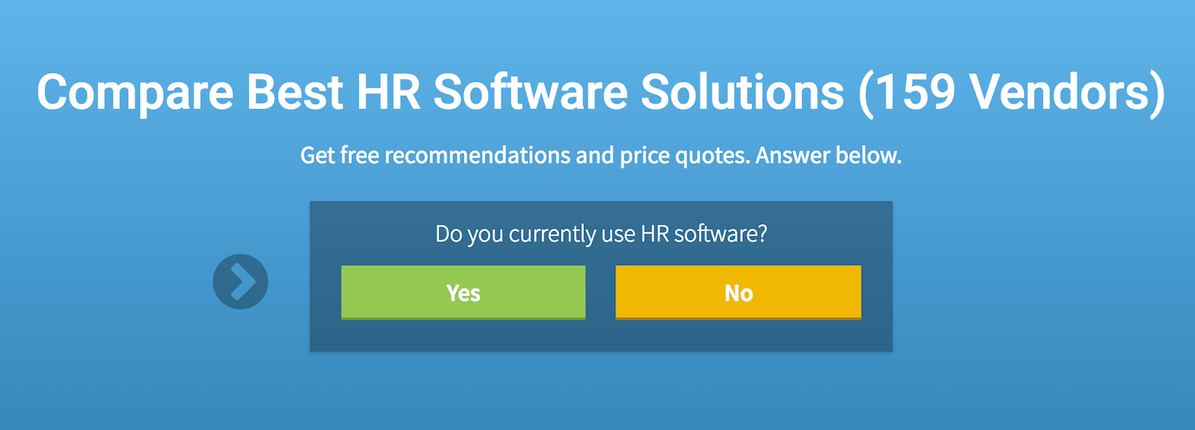 HR software dashboards