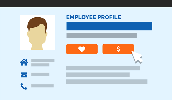 image of employee profile for human resources