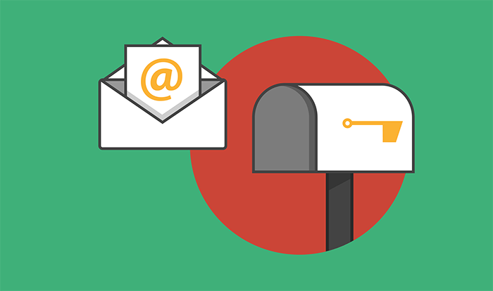 cover image of email going into an inbox