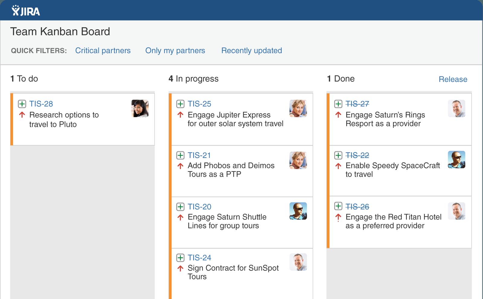 AtlassianJIRA screenshot