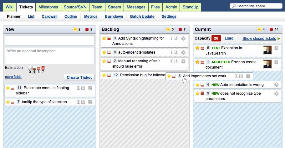 assembla screenshot