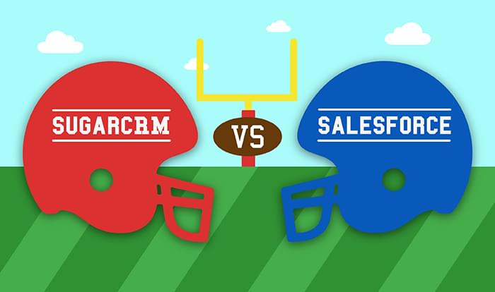 sugarcrm vs. salesforce