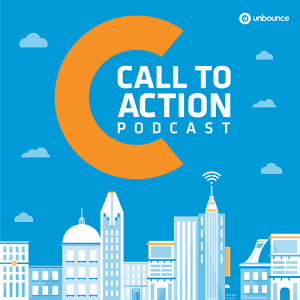 call_to_action_unbounce_podcast_logo