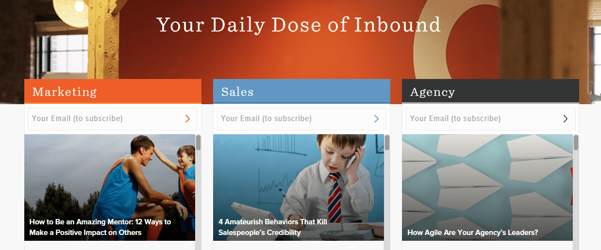 hubspot b2b content marketing
