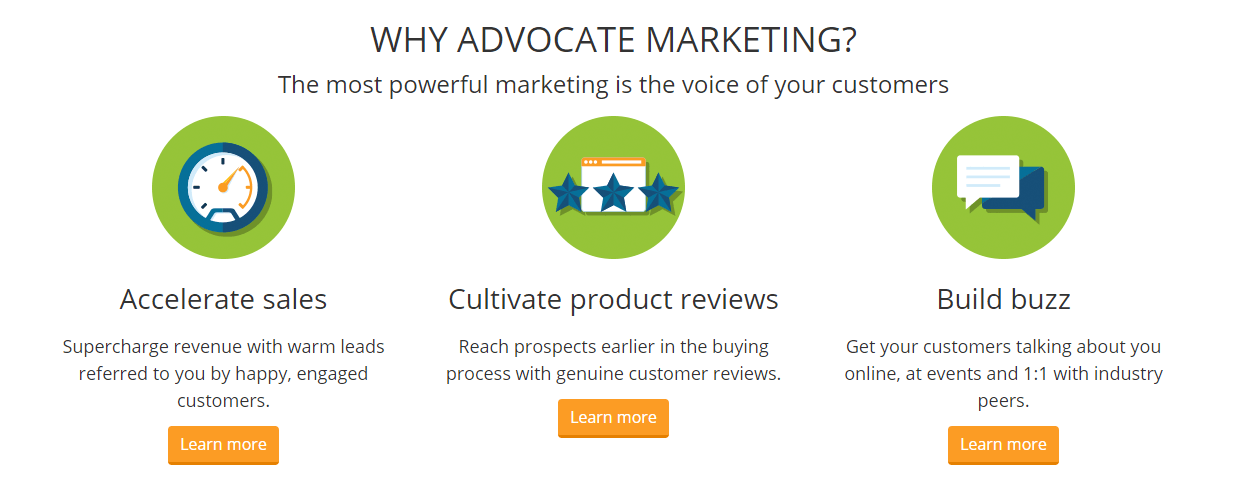 influitive advocate marketing software