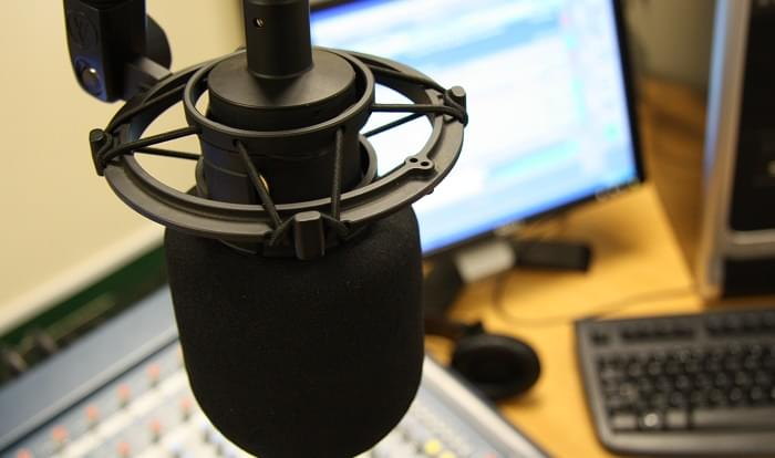 marketing podcasts microphone