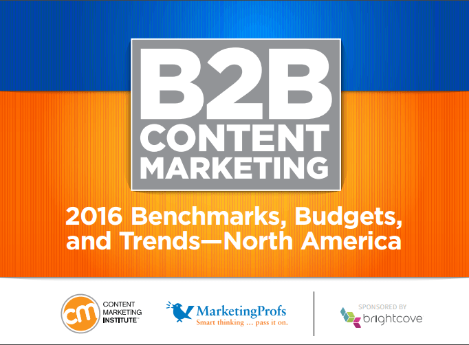 cmi content marketing report