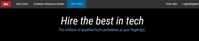 best job listing sites dice