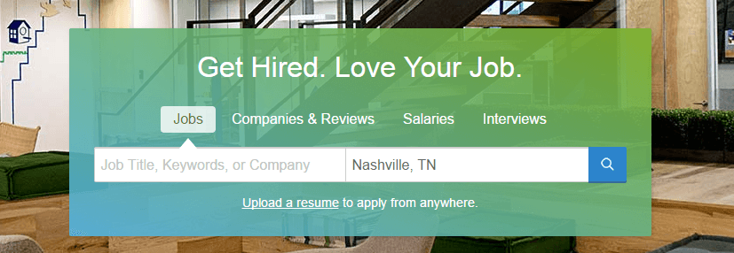 best job listing sites glassdoor