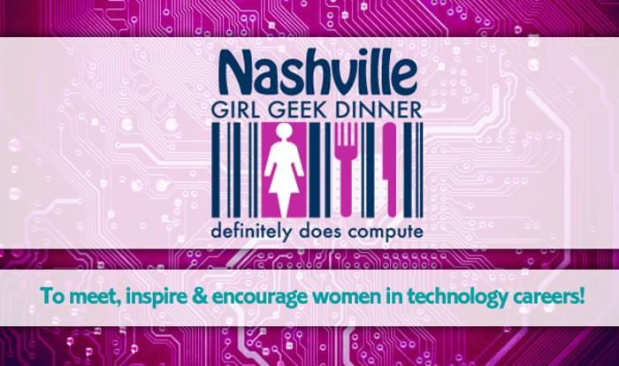 girl geek dinner banner