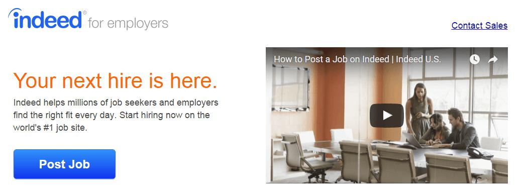 best job listing sites indeed