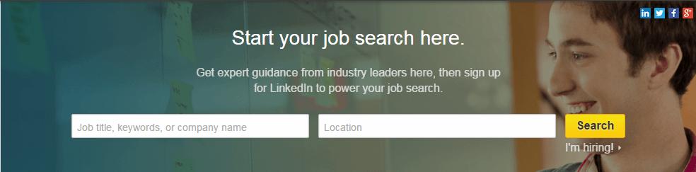 best job listing sites linkedin