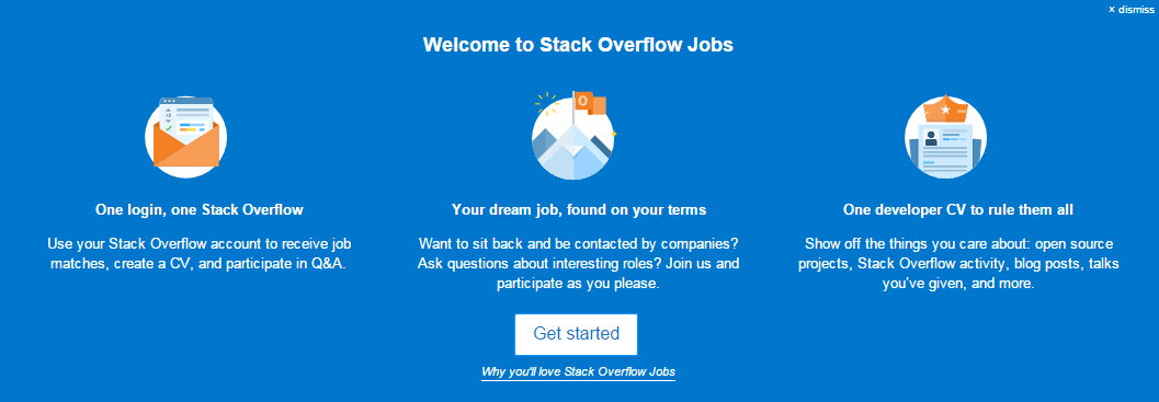 best job listing sites stackoverflow