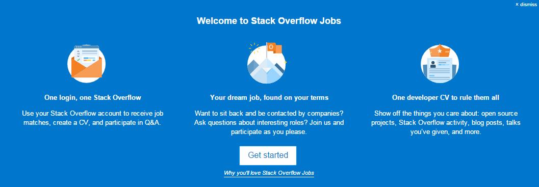 best job listing sites stackoverflow