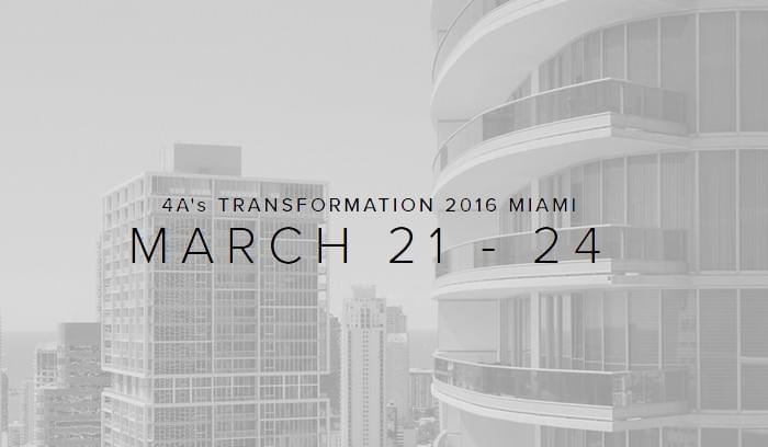 Top Speakers to Catch at 4A's Transformation 2016