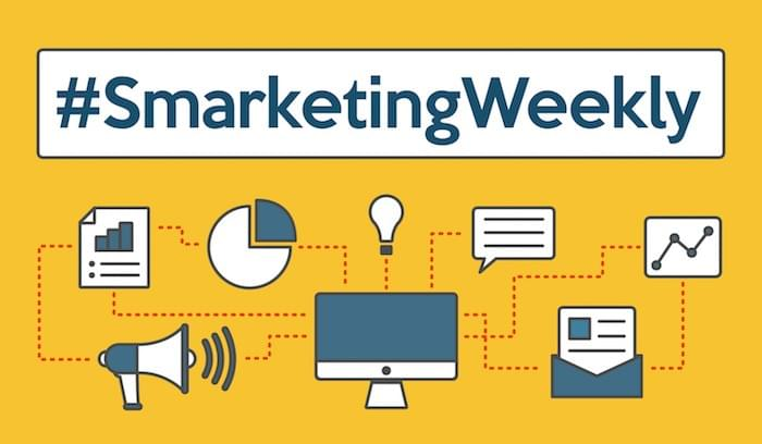 #SmarketingWeekly: Social Selling, ABM Partnerships, and the Disrupted Desk Lunch