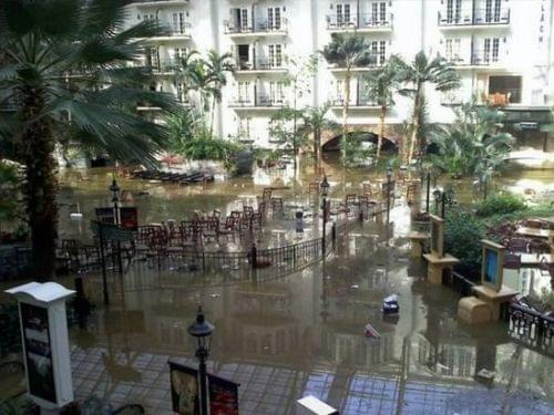 Gaylord Opryland Flooded