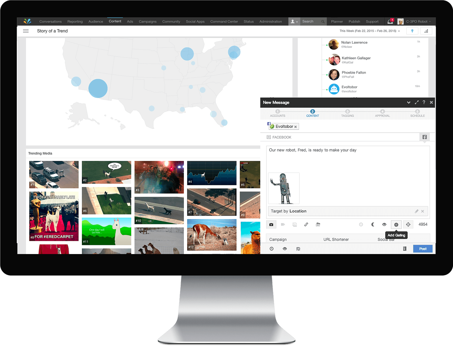 sprinklr screenshot